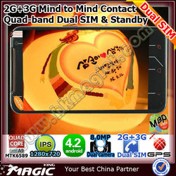 mtk6589 quad core android phone dual sim smart phone