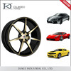 Hot Sale Gold Sliver And Black Alloy Wheel In India