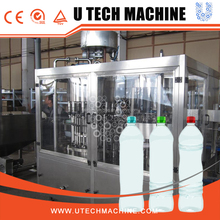 PET bottle packaged drinking water production line price