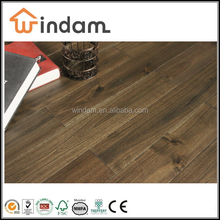 Stained Walnut color solid Acacia hardwood flooring