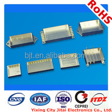 glass to metal seal power pin connector