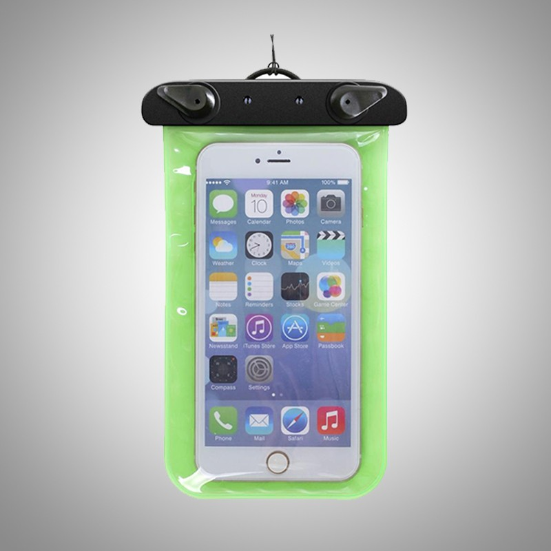 high quality EVA PVC clear waterproof mobile phone pouch