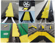 Road Speed Bump cable ramp cable connector protector