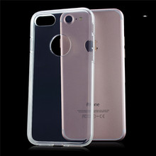 TPU transparent phone cover For iPhone 7 /7Plus 2mm transparent phone case for iphone 4.7 TPU wholesale phone case