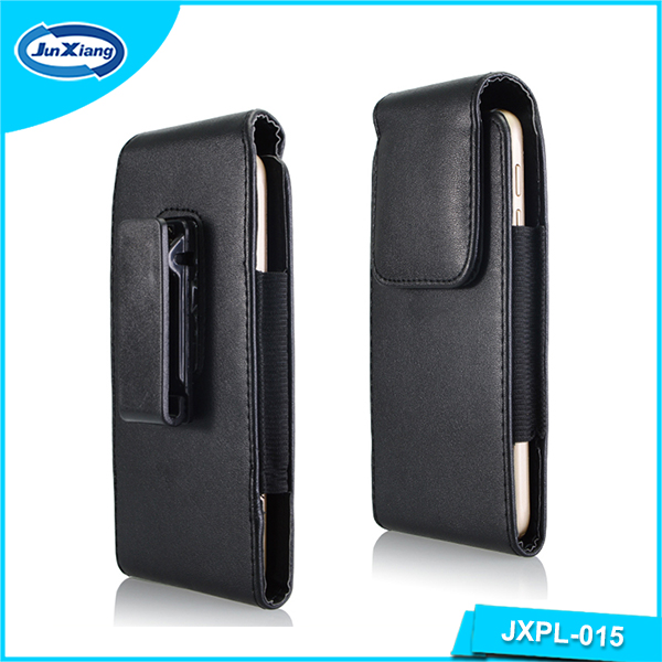 Leather Cellphone Case for iPhone 6 Universal PU Leather Belt Clip Holster Case Pouch Style
