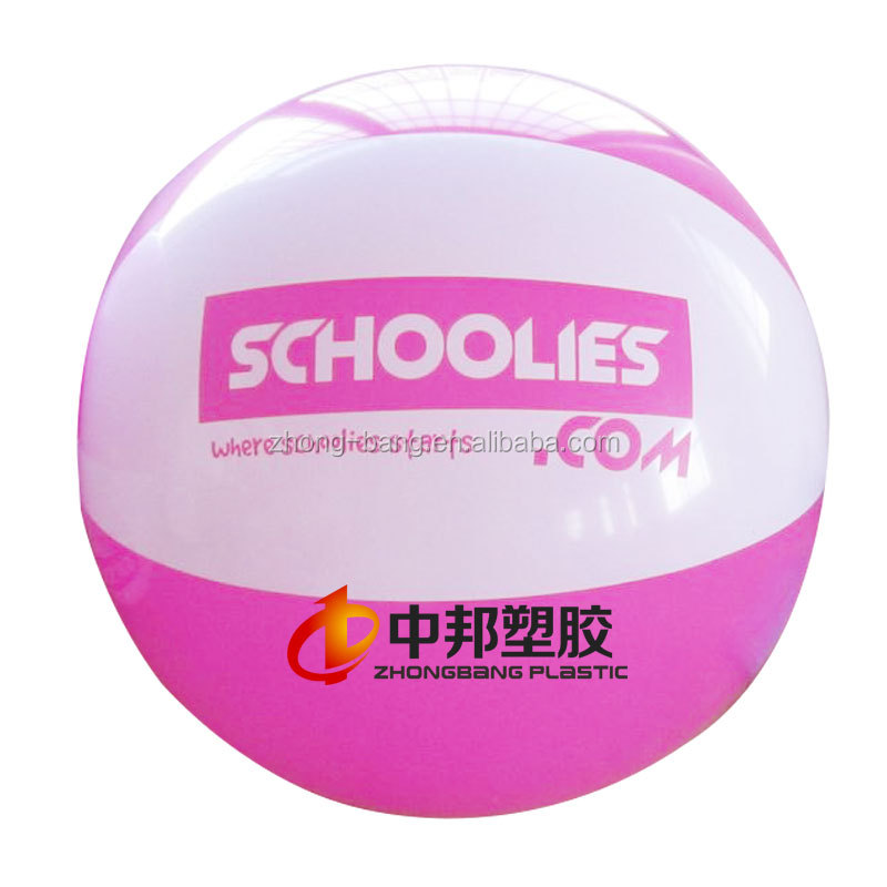 Customized print inflatable beach ball