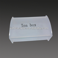 chinese slimming tea green acrylic box wholesale