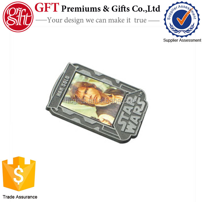 Top quality place of interest advertising metal pin