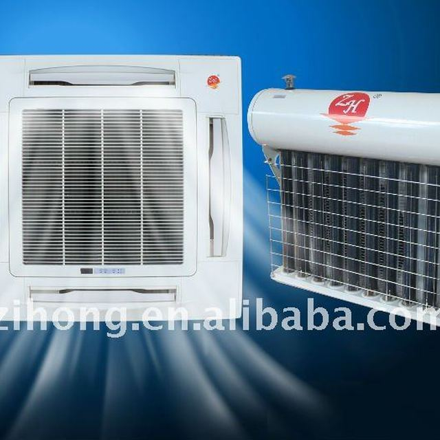 cassette type solar powered air conditioner/solar air conditioning
