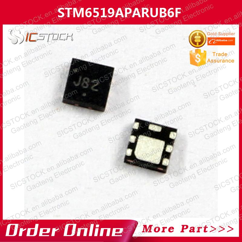 1LOT=10PCS STM6519APARUB6F IC SMART RESET 6UDFN 6519 STM6519