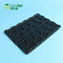 Cheap Price Custom PS Black Antistatic Electronic Component Blister Packaging ,Plastic Tray For Electronics Parts
