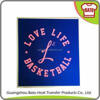 fabric heat transfer t shirt stickers silk screen prints