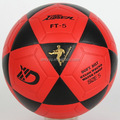 Xidsen,Qianxi training soccerball,PVC laminated,PU laminated football.Red Color