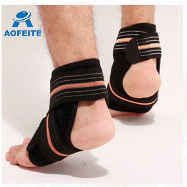 Waterproof breathable ligament damage prevent foot injury ankle brace support while playing football