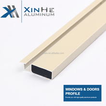 Xinhe Brand Nigeria Supplier Market Cheap Multicolor Window Aluminum Round Shape T Bar Ceiling Electrophoresis Champagne Profile