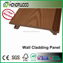 2015 HONORWOOD DECK / Exterior Wood Plastic Composite Wall Decorative Siding Panels Applied For Moden House Balcony