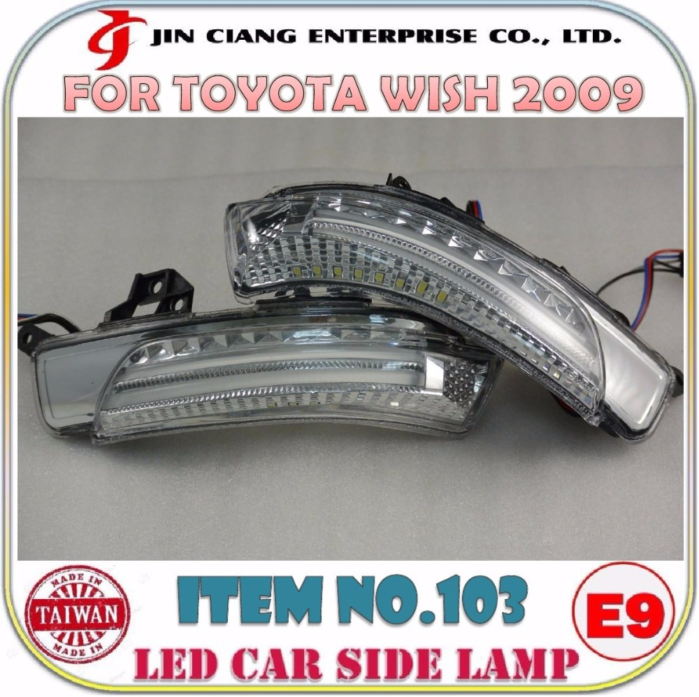 Automobile parts LED SIDE LAMP FOR JAPAN TOYOTA CROWN MAJESTA