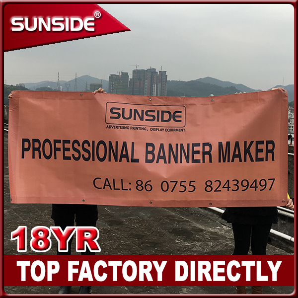 vinyl banner and signs,billboard advertising banner sign China Factory-L0918