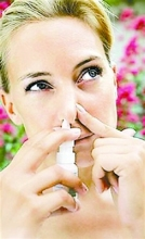 rhinitis spray curing runny nose, nasal hygiene, stuffy noses to relieve congestion