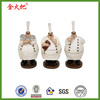 3D Handmade polyresin cute funny 3 pieces chef figurines