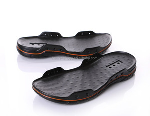 Sole factory wholesale natural rubber pu outsole for men sandals making
