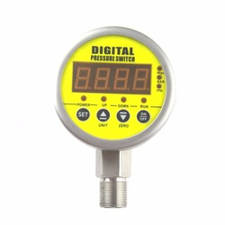 MD-S380E digital display air cng pressure gauge