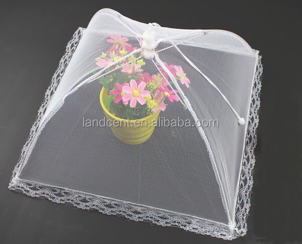 BBQ outdoor fold fly net food cover