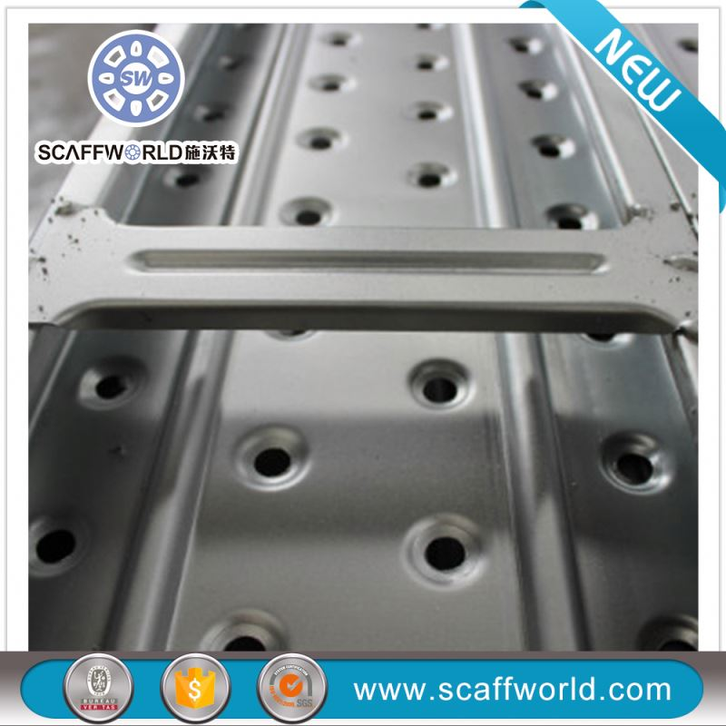Q234 China manufacturer scaffold planks, pre-galvanized scaffolding perforated steel planks for construction