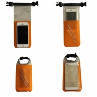 Wholesale PVC Phone Waterproof Bag Waterproof Pouch For Mobile Phone