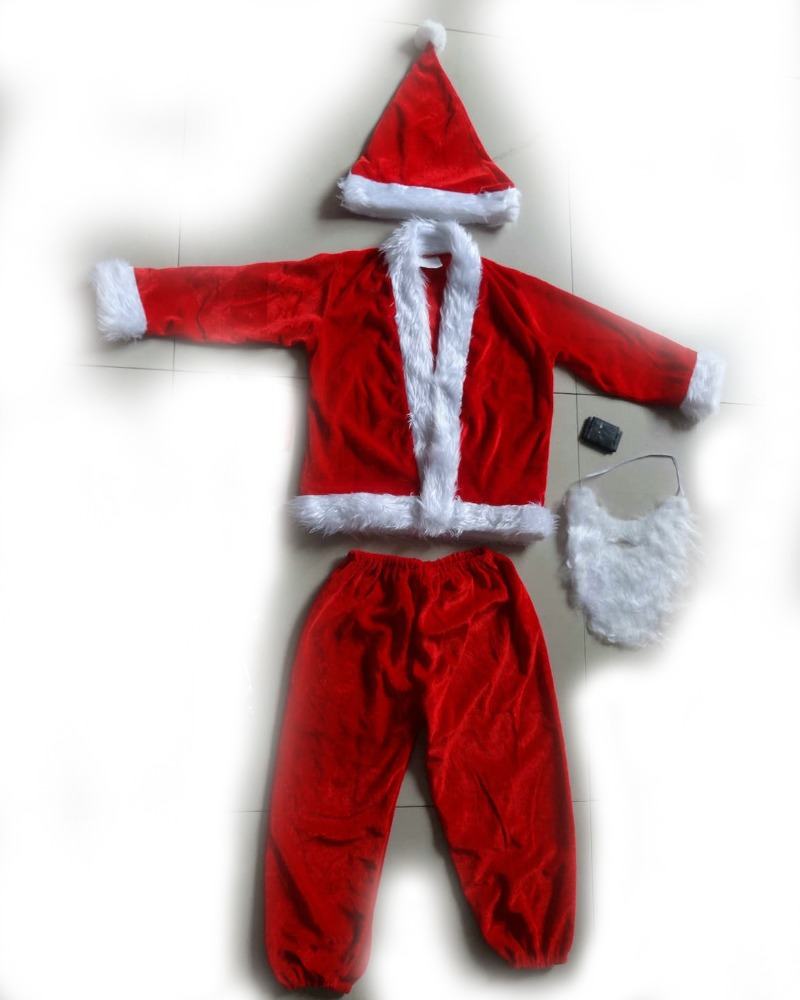flannel christmas costume for kids girl and boy all size is available