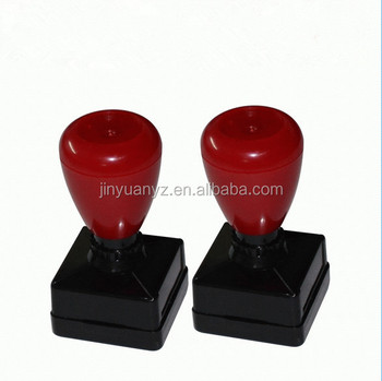 The high quality and new fashion style rectangle flash stamp
