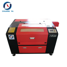 wood and plastic co2 laser cutting machine 5070 100w /6040 60w laser cutter