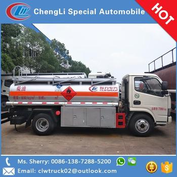 China factory direct sale small Dongfeng 4*2 oil tanker truck, high quality with good price!