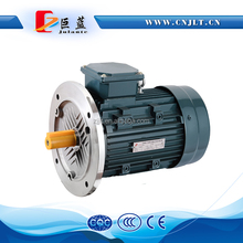 0.55KW aluminum body copper wire 1500rpm three phase flange mounting induction motor