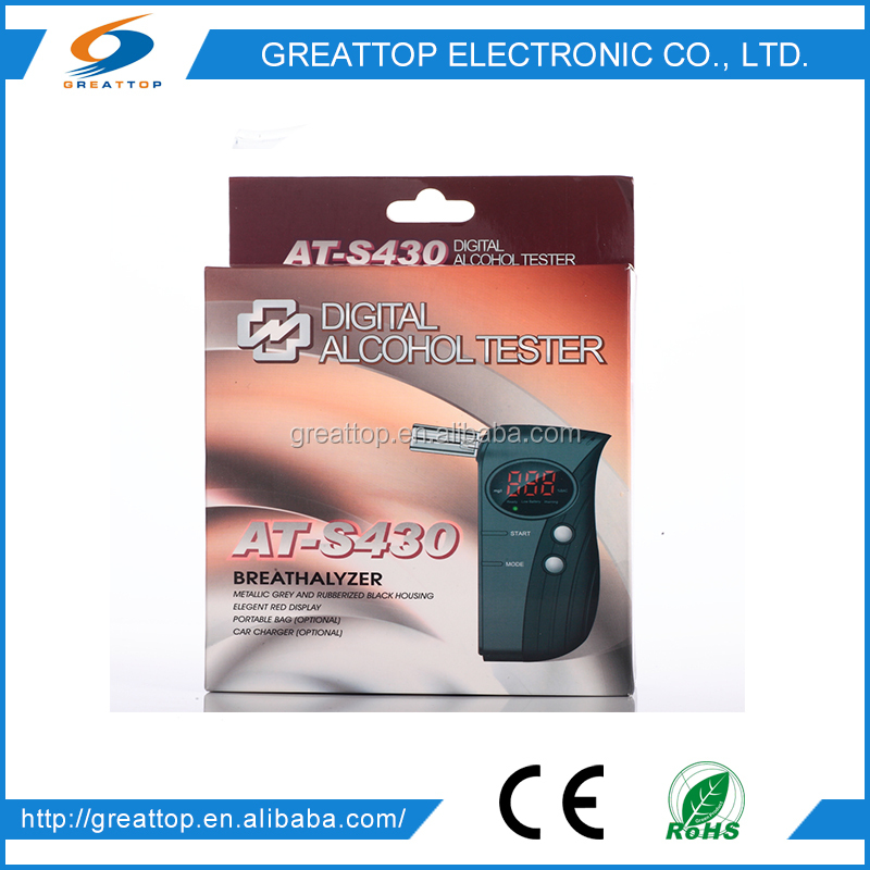 Greattop drive safety smartphone alcohol tester GT-ALT-35