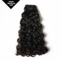 Wholesale Natural Beautt & Healthy Double Drawn Tight Curly Brazilian Human Hair Weaving