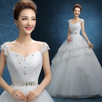 Excellent quality most popular white wedding dresses for pregnant women