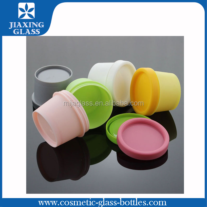 Colorful 50g 100g 330g Cute Cosmetic Plastic Jar/Empty Jar Big Volume PP Cream Jar Wholesale