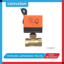 Junxiang 11007 Chilled Water/cooling Water Temperature Control Motorized Water Valve