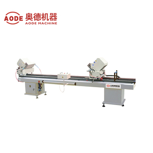 Double head cutting saw for aluminum and upvc