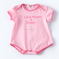 Newest toddler clothing baby onesie romper for summer