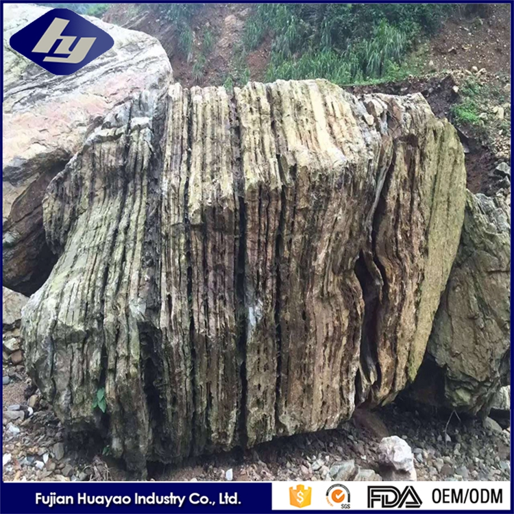 China Factory Price Color Landscape Stone Wholesale Large Garden Rocks