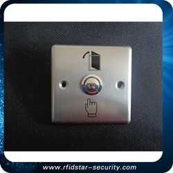 touch screen easy to operate access button for Access Control