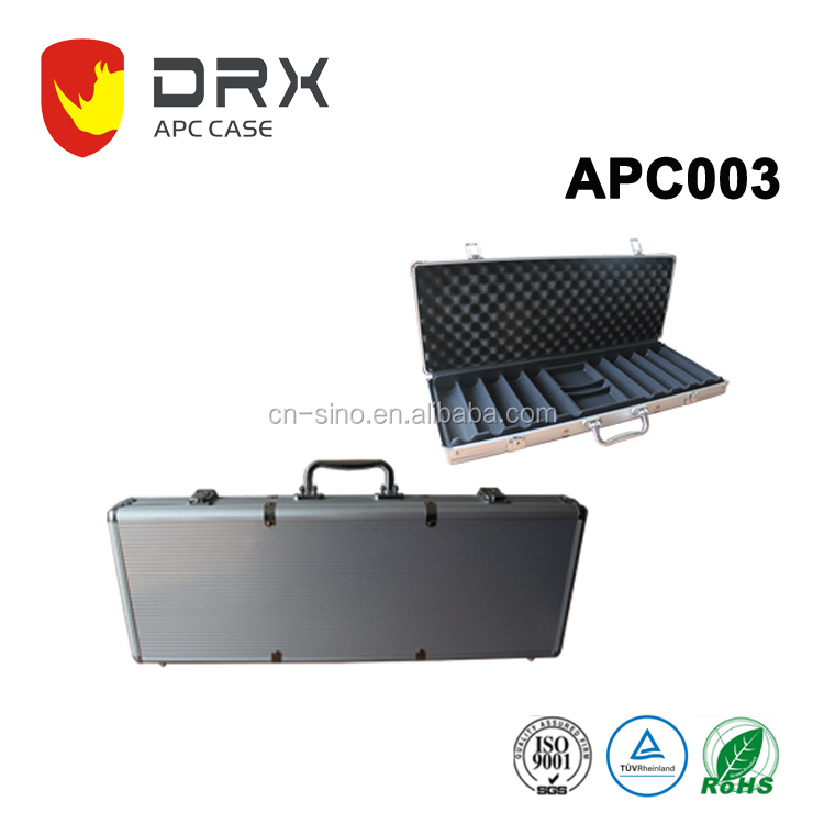 The OEM hard packaging locking aluminum carry case