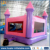 Funny inflatable castle jumper rental , pink air jumping castle for kids