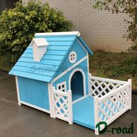 Affordable Price Pet Powder Coated Finish All Welded 6 / 8 Gauge Wire Selling Dog Kennel