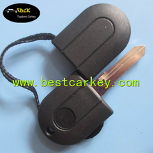 "Topbest transponder key car case with light with ""TDI"" writing on cover key for vw"