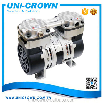 UN-25D 600torr 1.5bar 40LPM 2 cylinder air compressor pump