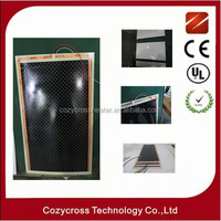 Carbon infrared floor heating film heat retaining walls