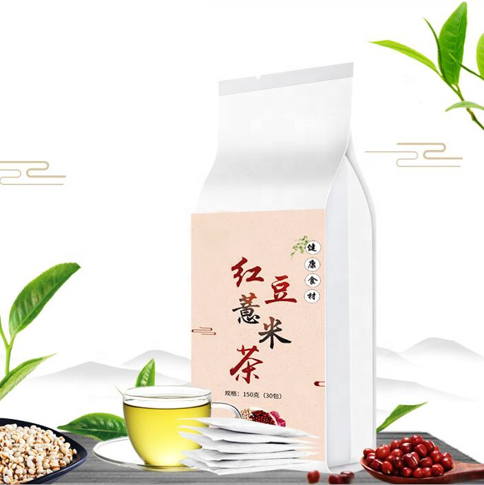 Healthy flavor cereal tea Red Bean and Coix Seed Moisture-dispelling Tea